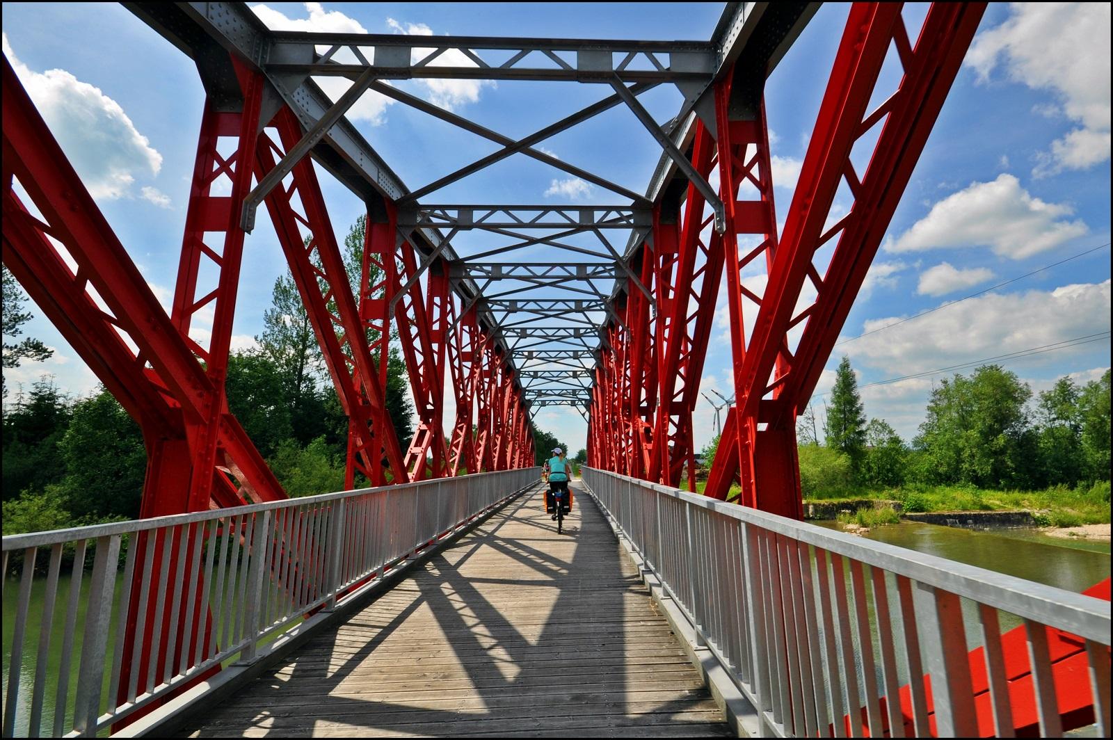 2017.06.Most_tylko_dla_rowerow_w_Czarnym_Dunajcu