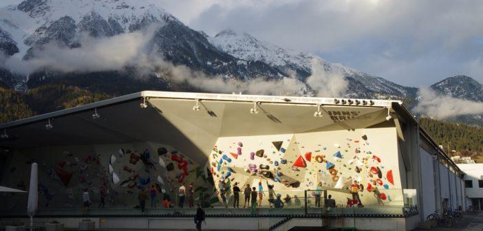 Z wizytą w Kletterzentrum Innsbruck